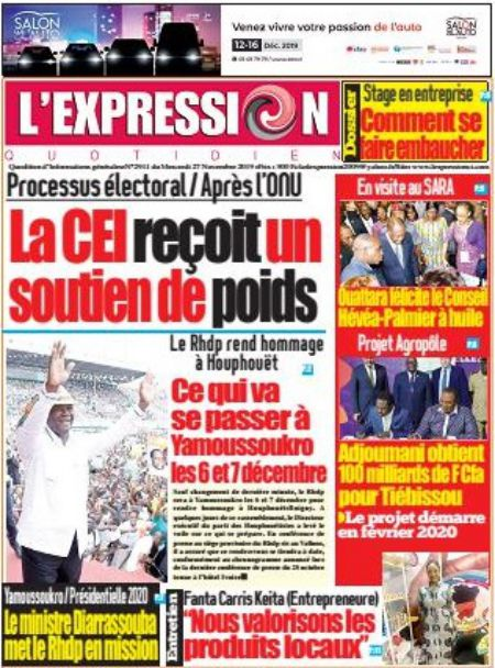 L'Expression Quotidien – N° 2911
