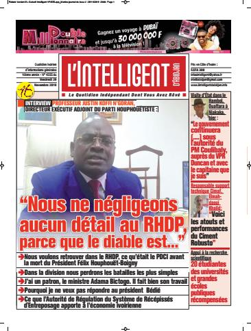 L'Intelligent d'Abidjan – N° 4555