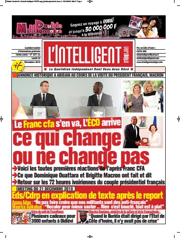 L'Intelligent d'Abidjan – N° 4572