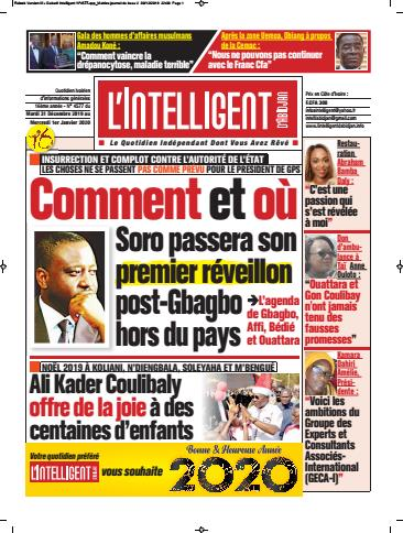 L'Intelligent d'Abidjan – N° 4577