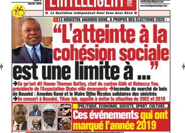 L'Intelligent d'Abidjan – N° 4581