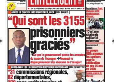 L'Intelligent d'Abidjan – N° 4586
