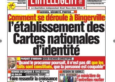 L'Intelligent d'Abidjan – N° 4591