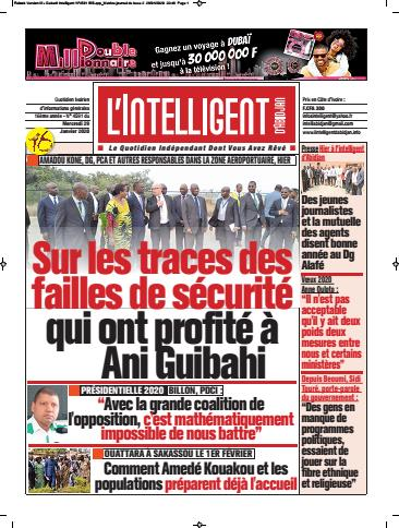 L'Intelligent d'Abidjan – N° 4592