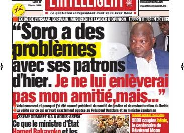 L'Intelligent d'Abidjan – N° 4601