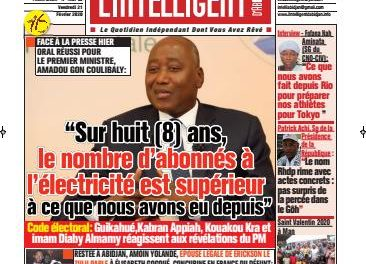 L'Intelligent d'Abidjan – N° 4609