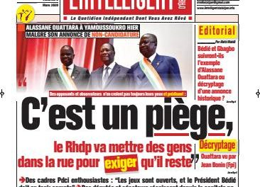 L'Intelligent d'Abidjan – N° 4618