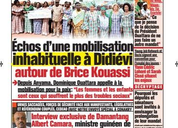 L'Intelligent d'Abidjan – N° 4619