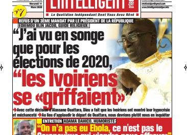 L'Intelligent d'Abidjan – N° 4621