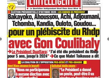 L'Intelligent d'Abidjan – N° 4623