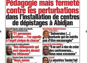 L'Intelligent d'Abidjan – N° 4641