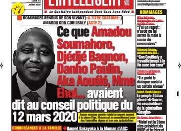 L'Intelligent d'Abidjan – N° 4698