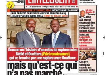 L'Intelligent d'Abidjan – N° 4699