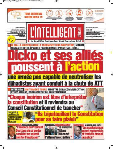 L'Intelligent d'Abidjan – N° 4723
