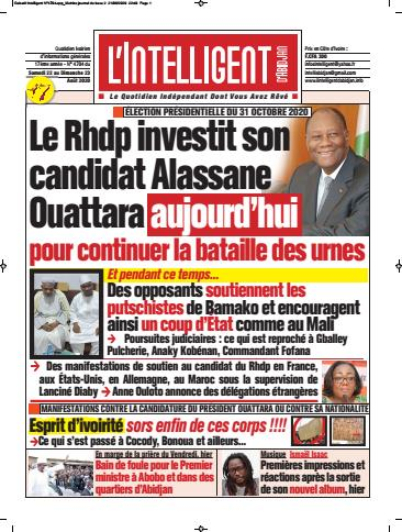 L'Intelligent d'Abidjan – N° 4726