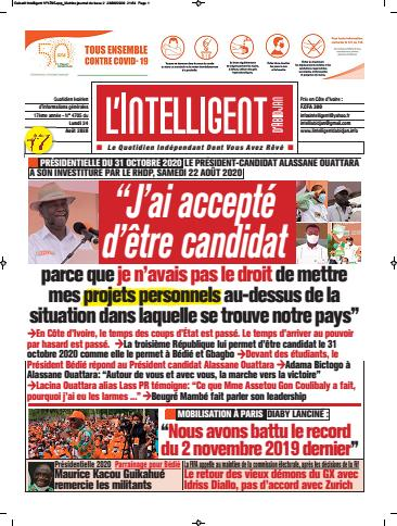 L'Intelligent d'Abidjan – N° 4727