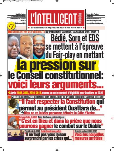L'Intelligent d'Abidjan – N° 4737
