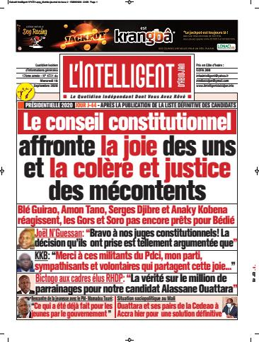 L'Intelligent d'Abidjan – N° 4743