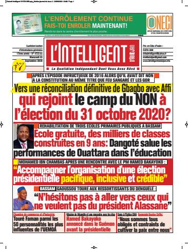 L'Intelligent d'Abidjan – N° 4747