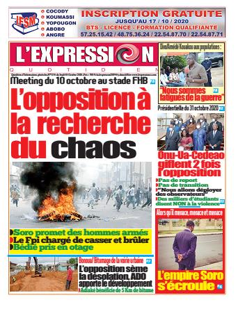 L'Expression Quotidien – N° 3137