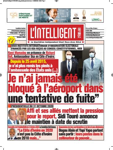 L'Intelligent d'Abidjan – N° 4753