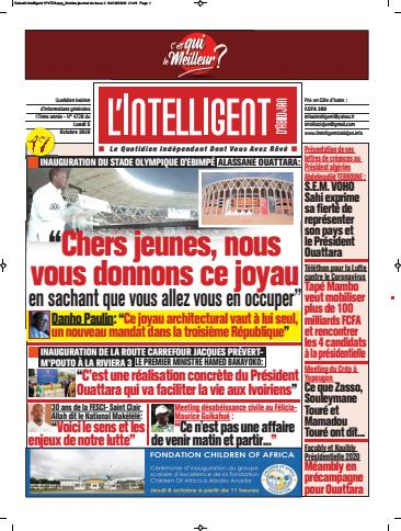 L'Intelligent d'Abidjan – N° 4755