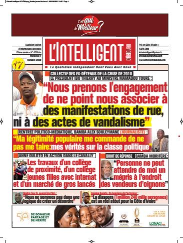 L'Intelligent d'Abidjan – N° 4757