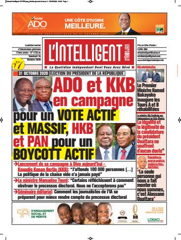 L'Intelligent d'Abidjan – N° 4764