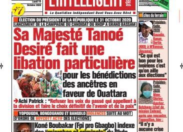 L'Intelligent d'Abidjan – N° 4766