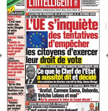 L'Intelligent d'Abidjan – N° 4770