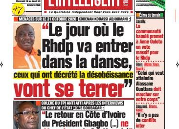 L'Intelligent d'Abidjan – N° 4773